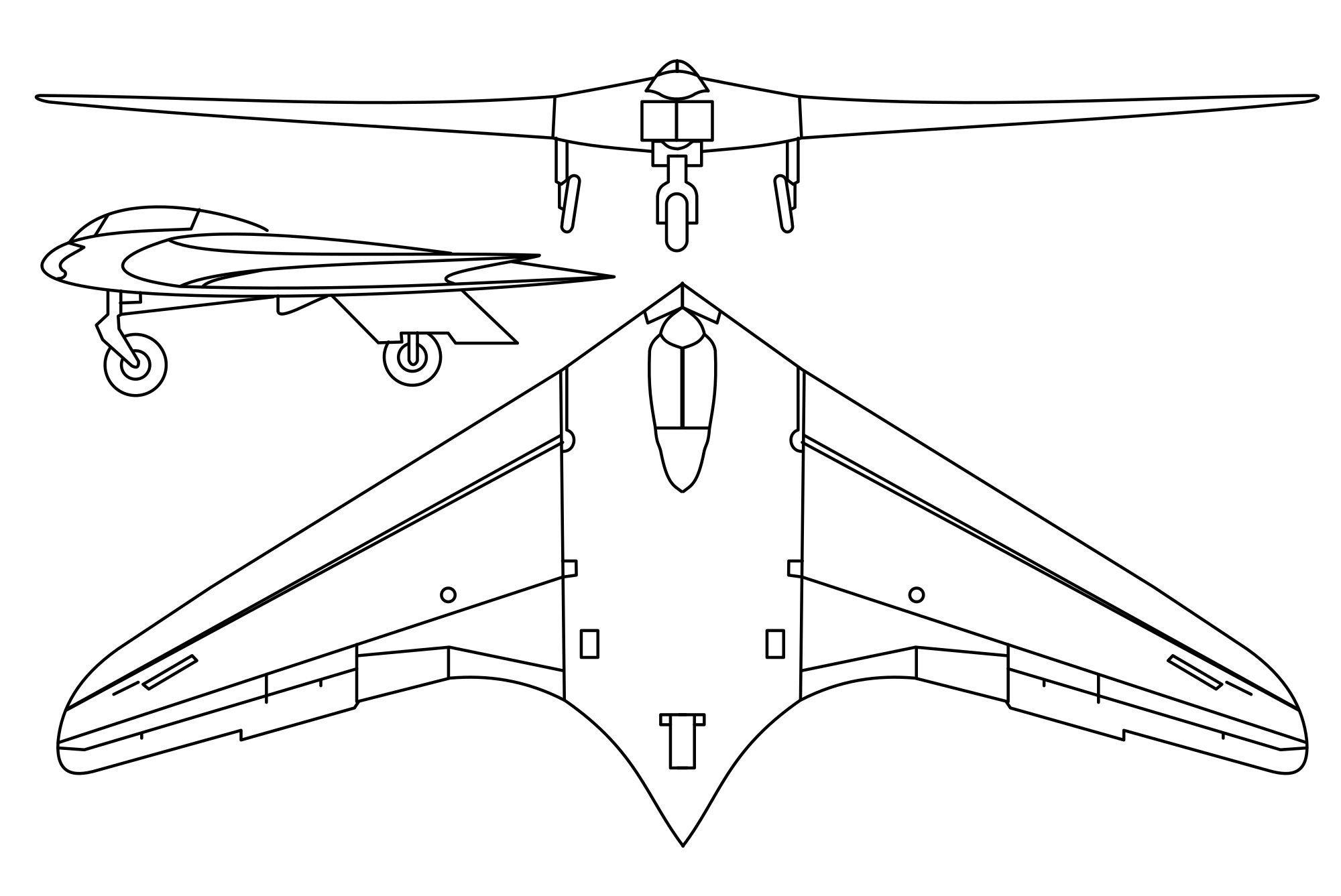 H.IX V1 drawings.