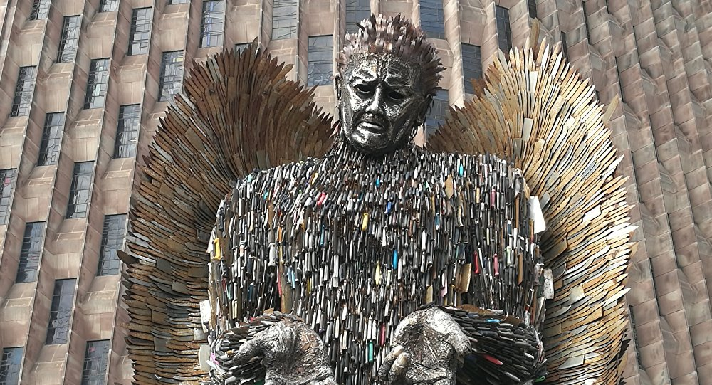 Knife Angel Pic 1