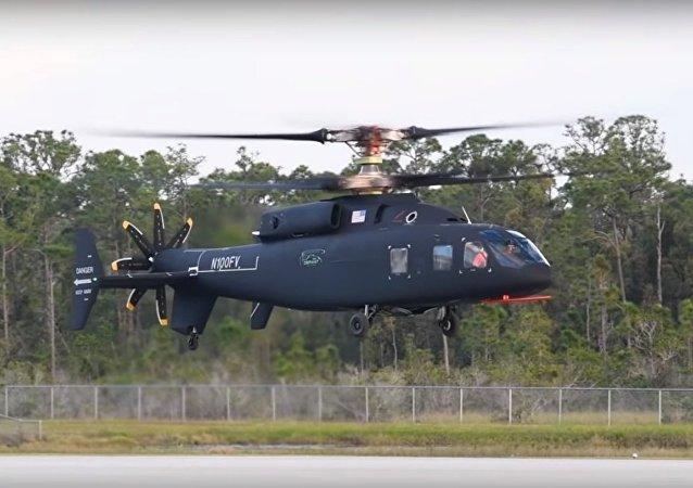 Sikorsky-Boeing #SB1 Defiant Completes First Flight