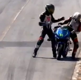 Professional motorcyclists each receive two-year suspension following mid-race brawl during Costa Rica event in February 2019