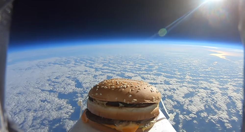 McDonald's Big Mac in Space