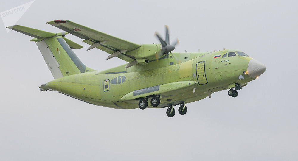 Russian IL-112V Military Transport Plane