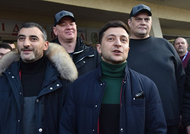 Comedian Volodymyr Zelenskiy