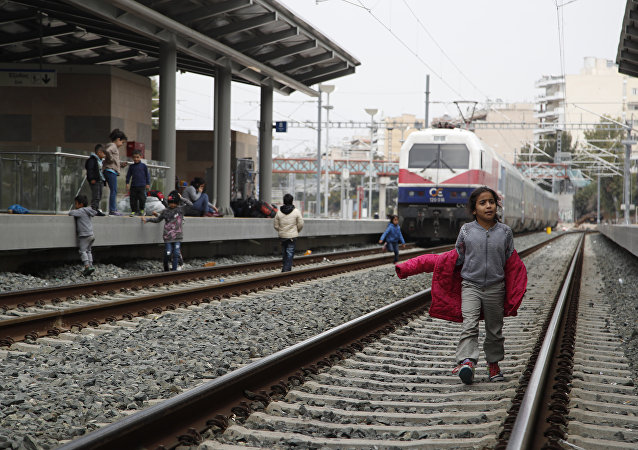 Greece Migrants in Athens