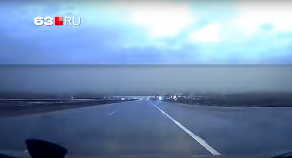 A flash over Samara
