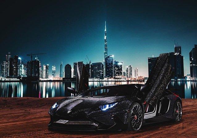 Lamborghini Aventador, Daria Radionova