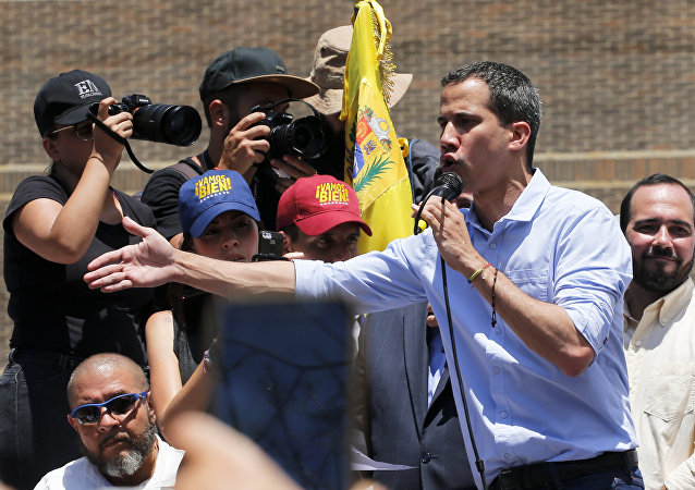 Venezuela's opposition leader and self-proclaimed president Juan Guaido. File photo
