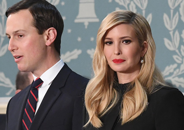 In this file photo taken on February 05, 2019, Senior Advisor to the President Ivanka Trump (R) and husband Senior Advisor to the President Jared Kushner arrive to attend the State of the Union address at the US Capitol in Washington, DC.