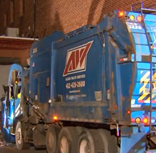 A Pennsylvania man wound up in the back of a garbage truck this week after he fell asleep in a dumpster.