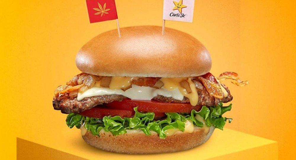 Carl's Jr. will test a CBD-infused burger
