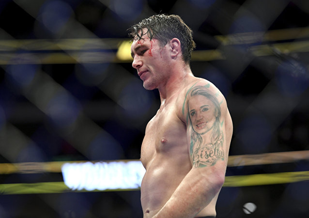 UFC fighter Darren Till