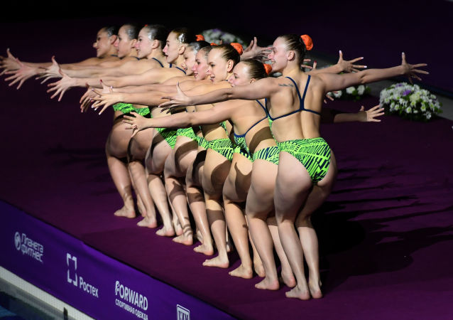 Water Beauties: Highlights of FINA Artistic Swimming World Series 2019 in Kazan