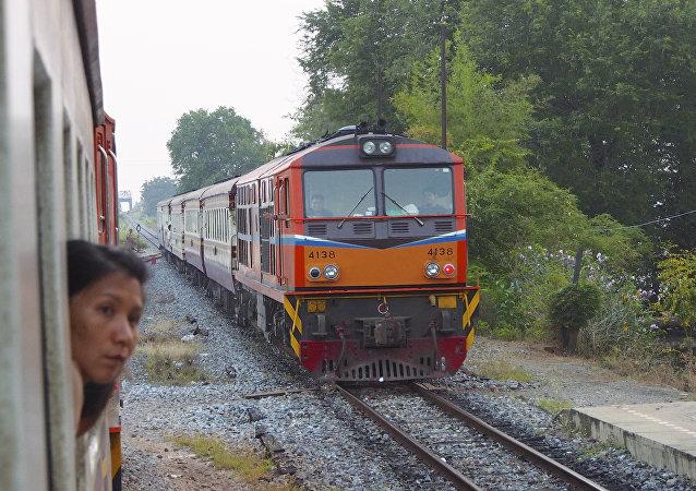 A train in Thailand's Aranyaprathet (File photo).