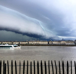 The sky over France's Bordeaux (File photo).