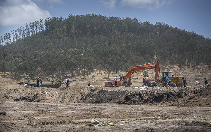 Remains of Ethiopian Airlines Victims Still Scattered Around Crash Site