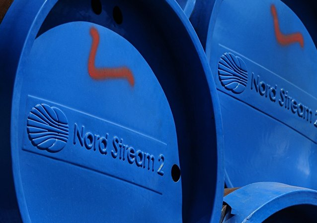 Nord Stream 2 pipes