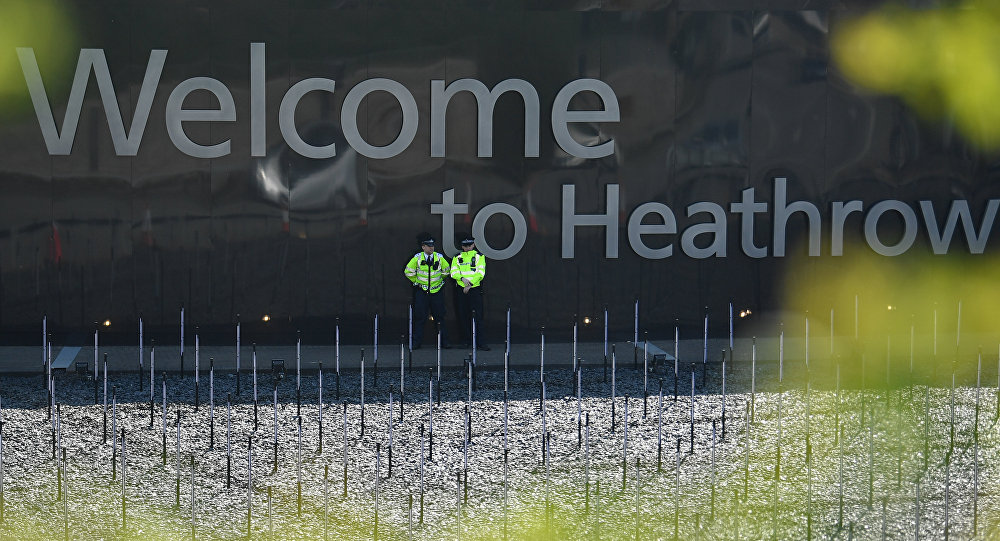 Massive inferno amid explosions near London's Heathrow Airport