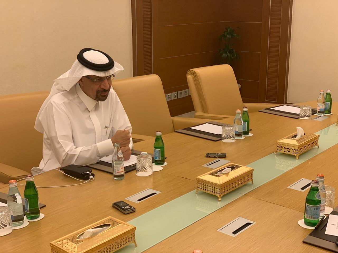 Minister of Energy of Saudi Arabia Khalid A. Al-Falih