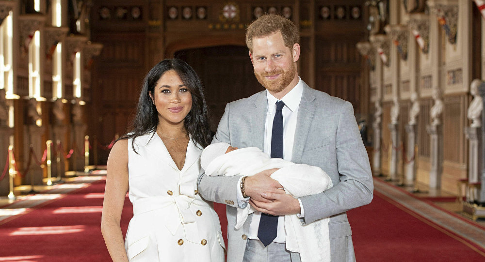 Prince Harry is a Happy Dad Receiving Onesie Gift for Son Archie!
