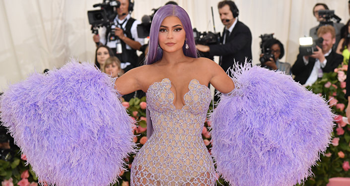 Kylie Jenner arrives for the 2019 Met Gala at the Metropolitan Museum of Art on May 6, 2019, in New York. The Gala raises money for the Metropolitan Museum of Art's Costume Institute.