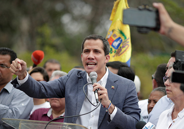 Venezuelan opposition leader Juan Guaido, who many nations have recognised as the country's rightful interim ruler, takes part in a rally in support of the Venezuelan National Assembly and against the government of Venezuela's President Nicolas Maduro in Caracas, Venezuela, May 11, 2019
