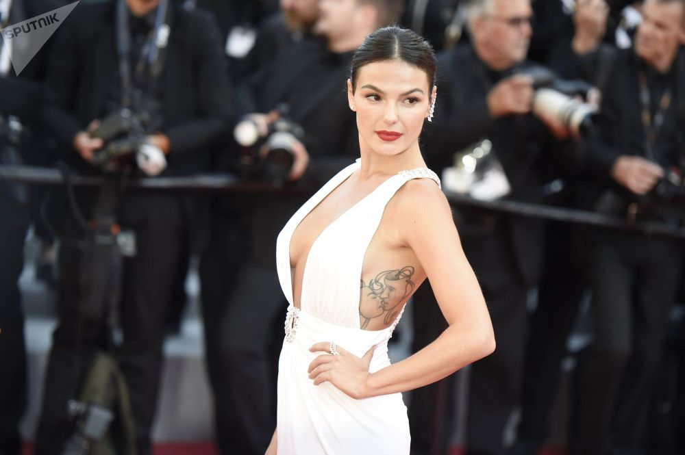 Actress Ísis Valverde During the 72nd Cannes Film Festival in France