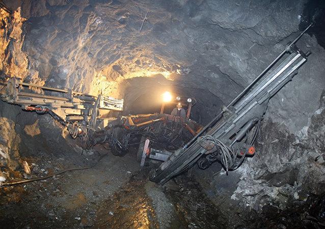 Рудник по добыче полимерных руд