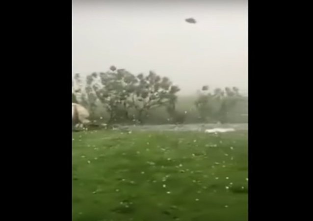 Extreme hailstorm in Romania