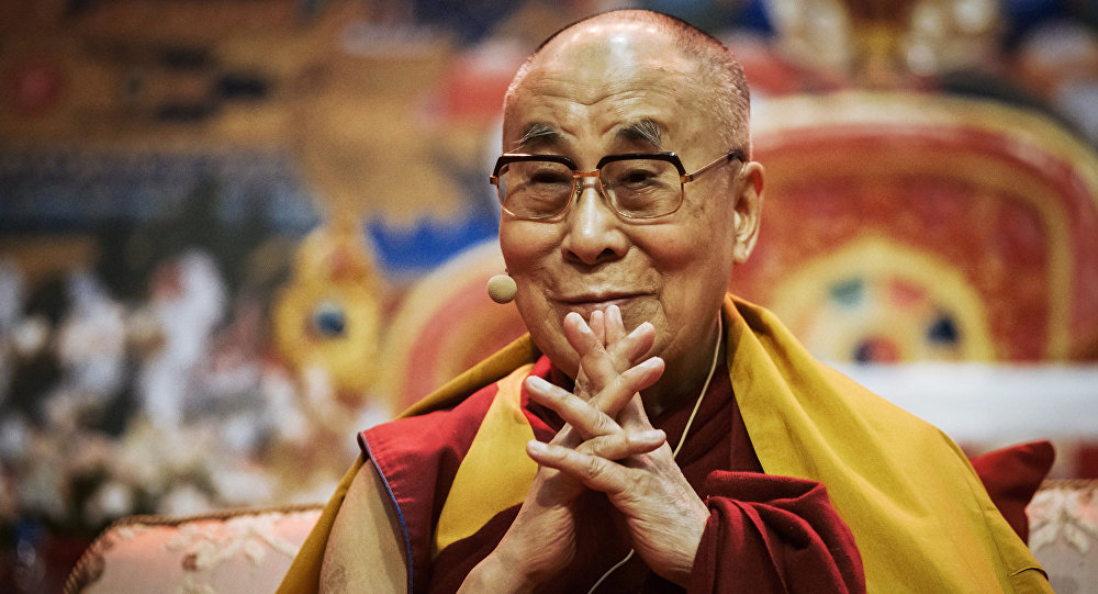 Tenzin Gyatso, known as the 14th Dalai Lama.EXCLUSIVE: Dalai Lama Says Russia is a Bridge Between East and West