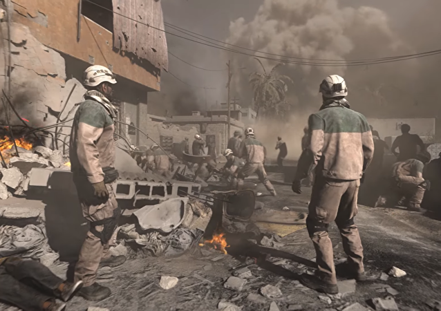 White Helmets appear in the trailer for Call of Duty: Modern Warfare