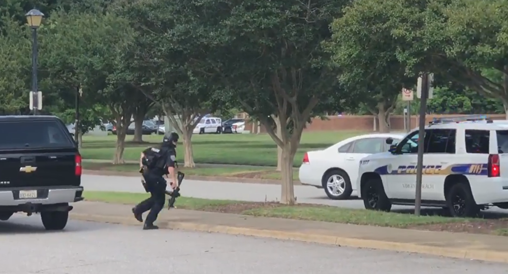 Active shooter reported at Virginia Beach municipal center; multiple injuries