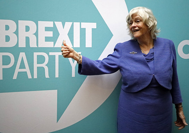 Ann Widdecombe was elected as an MEP for the Brexit Party in last month's elections