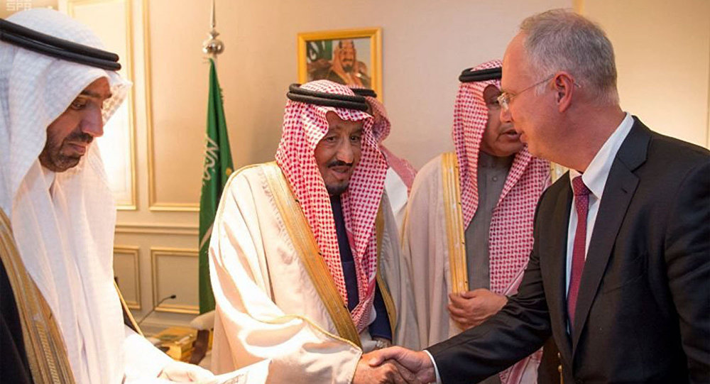 CEO of RDIF Kirill Dmitriev and the Custodian of the Two Holy Mosques