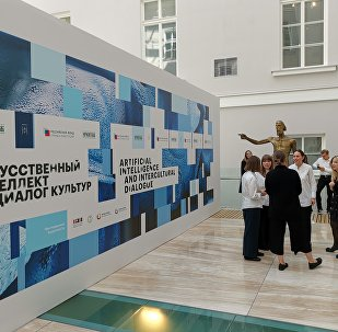 AI art exhibition at Hermitage Museum