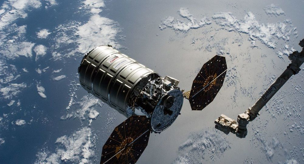 The Cygnus cargo craft