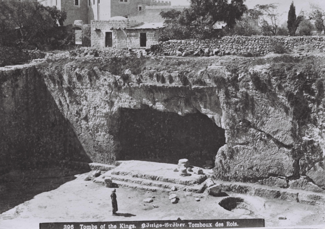 The Tombs of the Kings in Jerusalem, 1910-1920.