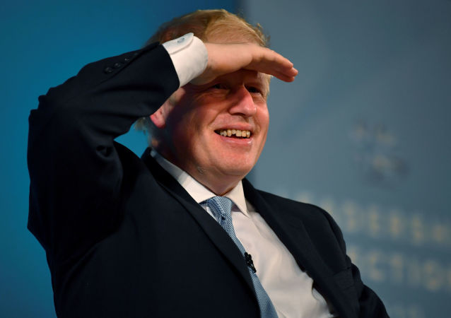 Boris Johnson, a leadership candidate for Britain's Conservative Party, attends a hustings event in Bournemouth, Britain, June 27, 2019
