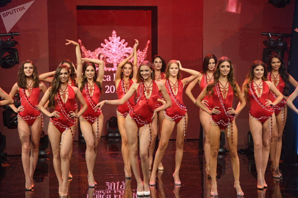 Beauty Pageant Krasa Rossii-2019 in Moscow