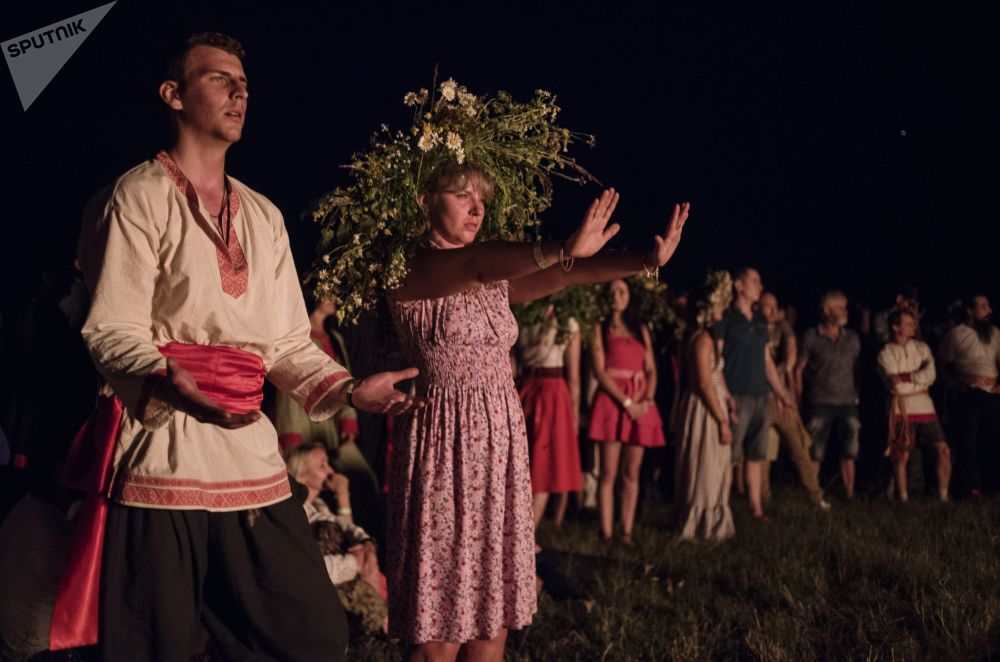 Magic Power and Fern Blossoms: Slavic Festival Marking Summer Solstice