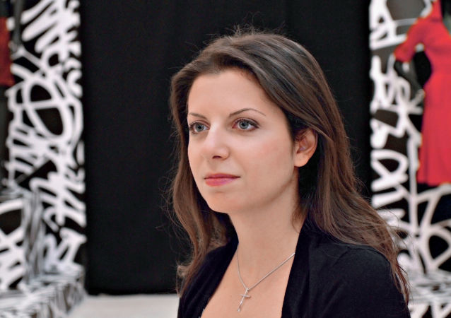 Editor-in-Chief Margarita Simonyan