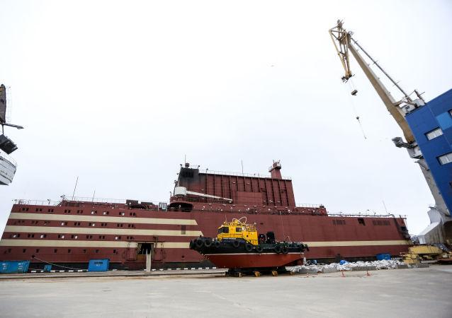 World's first floating nuclear power plant (NPP) Akademik Lomonosov