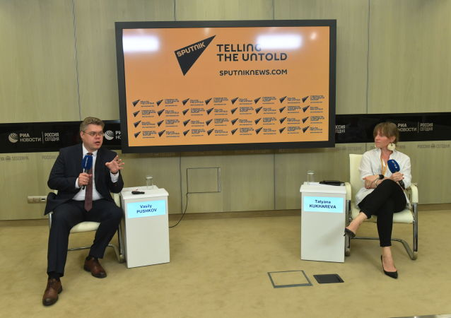 Sputnik shares experience with young leaders from India