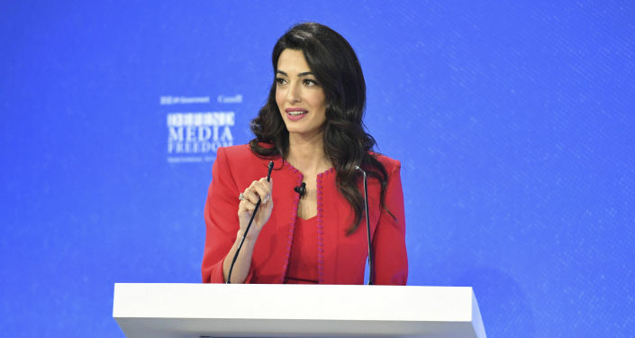 Amal Clooney Resigns From UK Envoy's Post Over BoJo's 'Lamentable' Brexit Bill