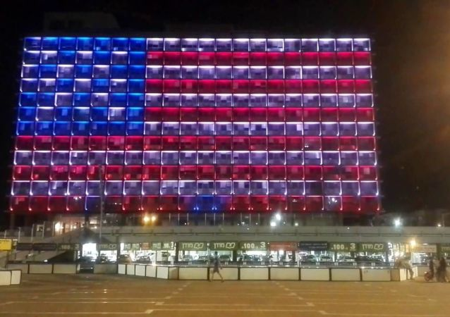Tel Aviv City Hall in solidarity with the victims of the Orlando terror attack