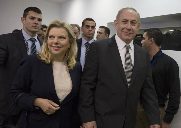Israeli Prime Minister Benjamin Netanyahu and his wife Sarah