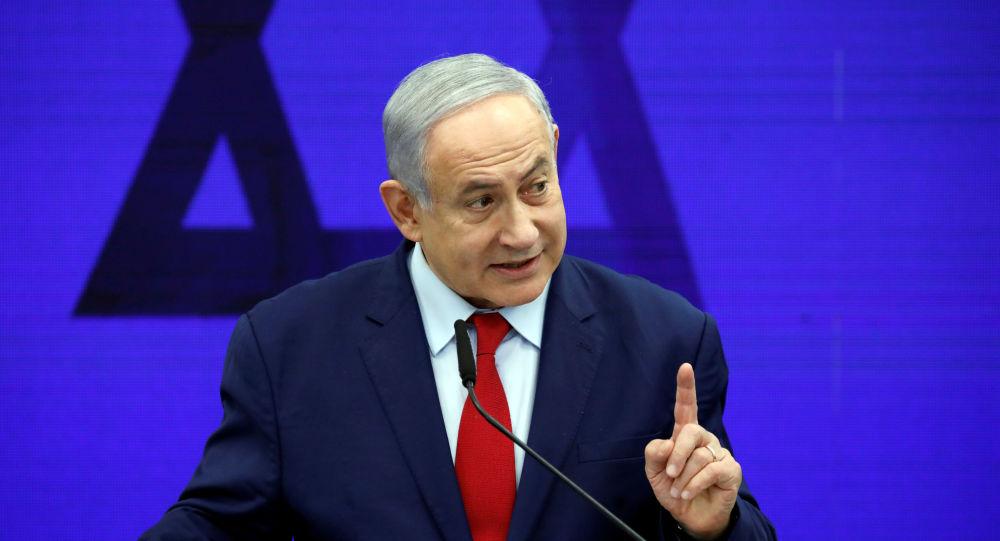 Israeli Prime Minister Benjamin Netanyahu delivers a statement in Ramat Gan, near Tel Aviv, Israel September 10, 2019.