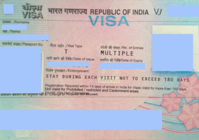 Visa for the Republic of India