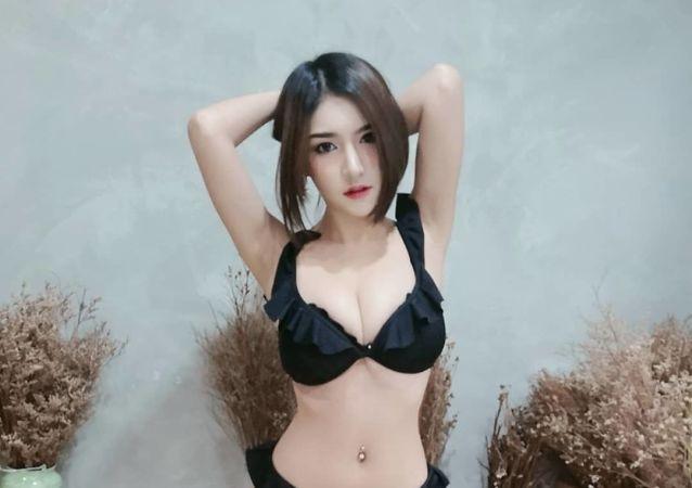 Thai model Thitim Noraphanpiphat