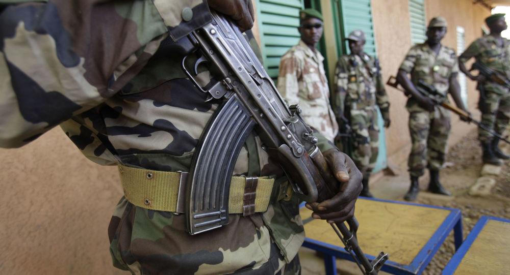Nigerien soldiers (File)
