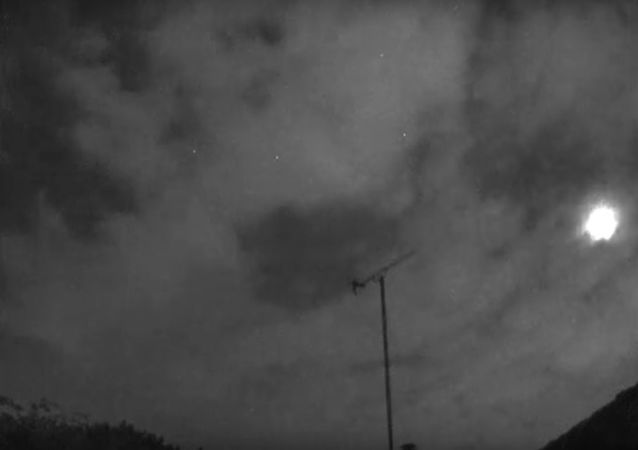 Fireball seen from London 24 September at 19:54